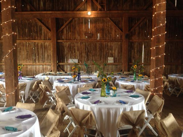 Colby's Barn Wedding Catering